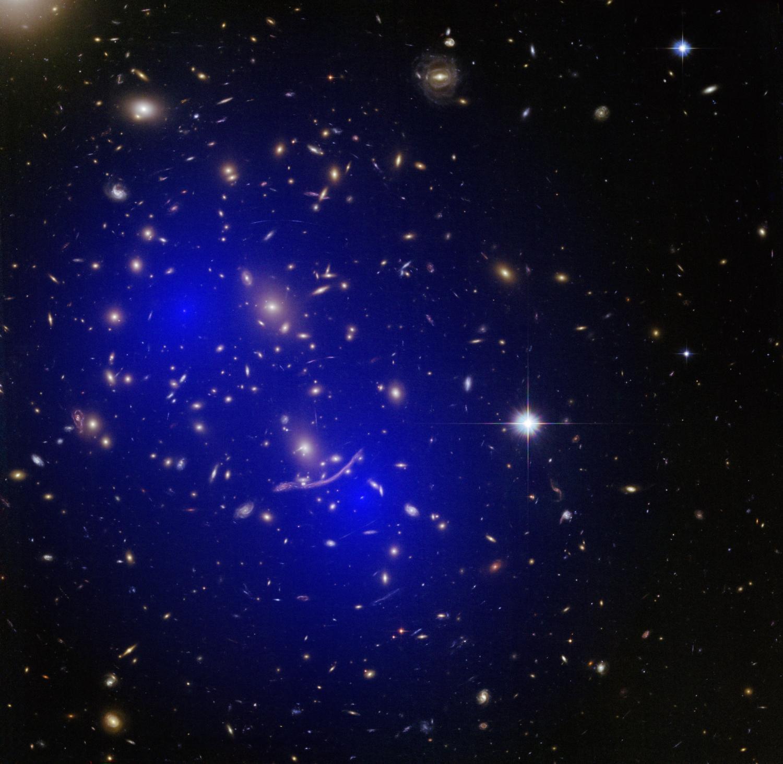 Dark Matter  Galaxy clusters collide—dark matter still a mystery