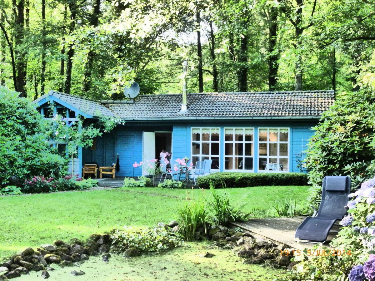 Das Blaue Haus  Ferienhaus Blaues Haus am Meer Zwischenahner Meer