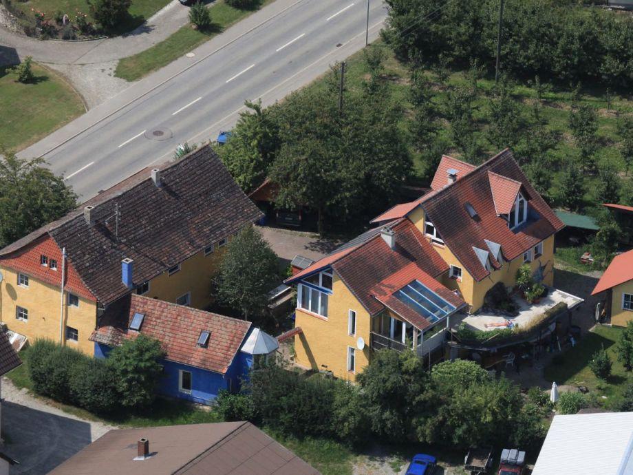 """Das Blaue Haus  Ferienhaus Doncharifa """"das blaue Haus"""" Bodensee Firma"""