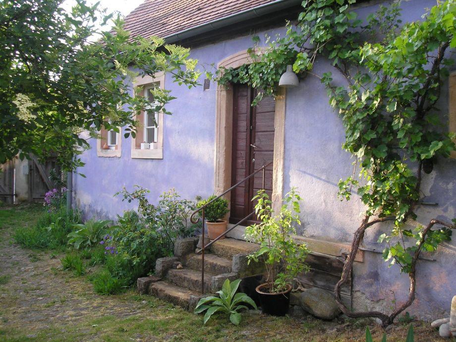 """Das Blaue Haus  Ferienhaus """"Das Blaue Haus"""" Bamberg Steigerwald Bayern"""