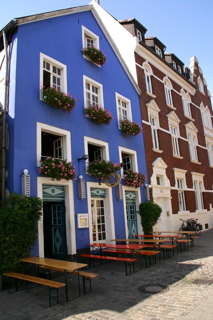 Das Blaue Haus  Geschichte Das Blaue Haus Münster