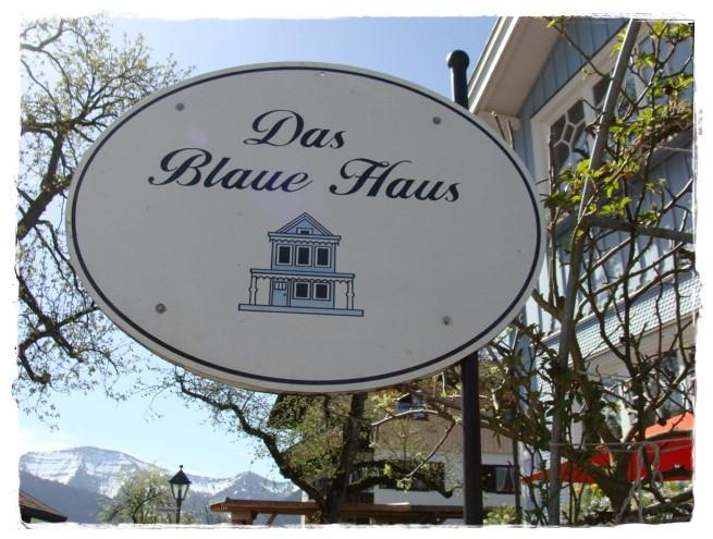 Das Blaue Haus  versponnenes Das blaue Haus