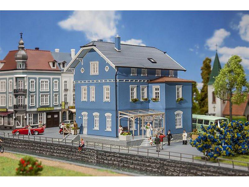 Das Blaue Haus  Cafe das Blaue Haus Faller