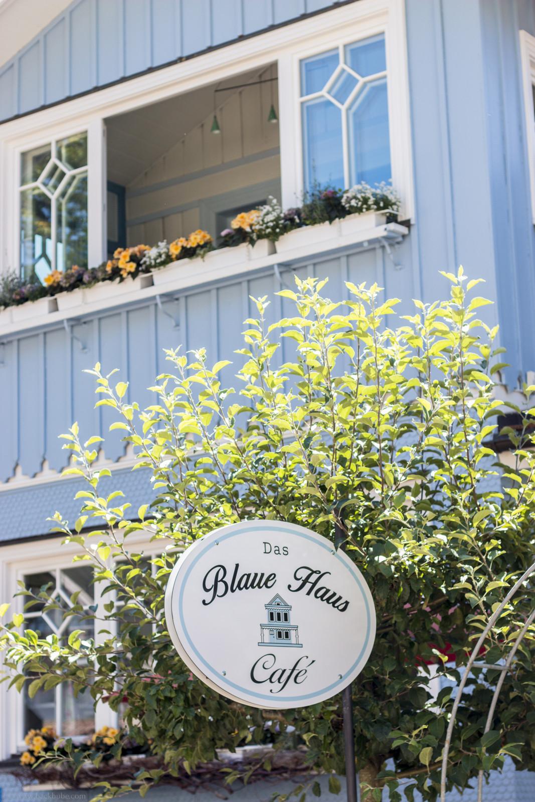 Das Blaue Haus  Das Blaue Haus in Oberstaufen & ein leckerer Blaubeer Pie