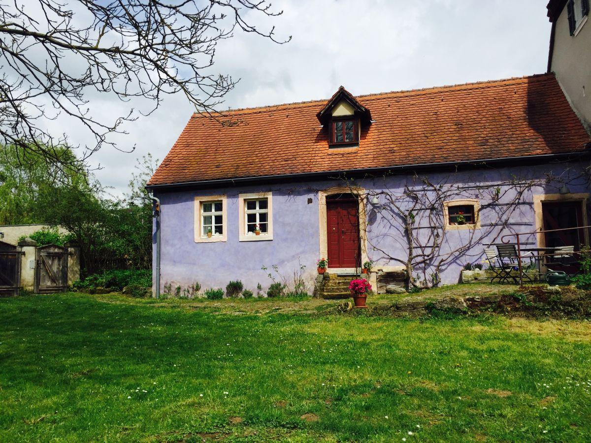 Das Blaue Haus  Ferienhaus Das Blaue Haus Bamberg Steigerwald Bayern