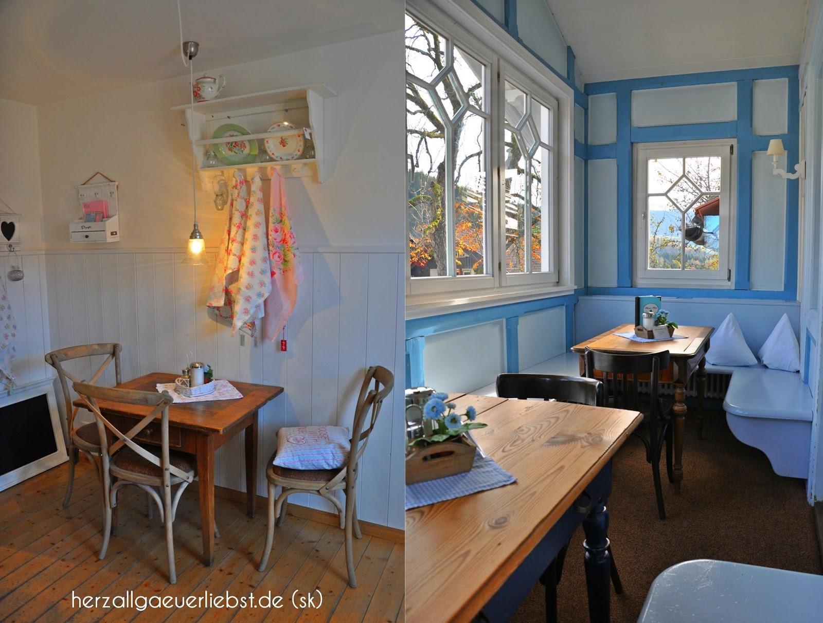 Das Blaue Haus  Herzallgäuerliebst Das Blaue Haus in Oberstaufen
