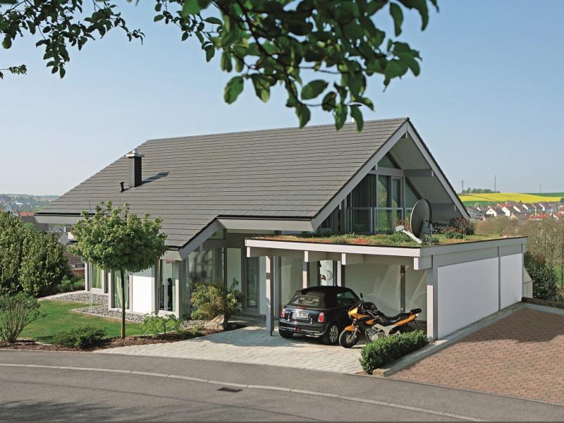Davinci Haus  Fertighaus von DAVINCI HAUS Kundenhaus Gerlacher