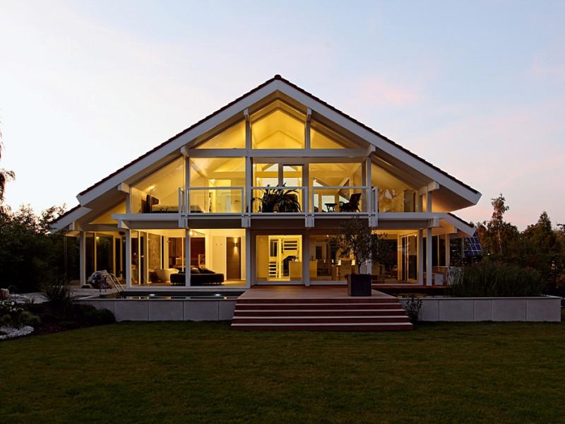 Davinci Haus  Fertighaus von DAVINCI HAUS Kundenhaus Stettner