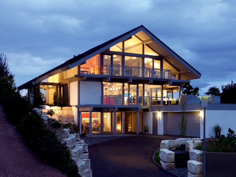 Davinci Haus  Fertighaus von DAVINCI HAUS Kundenhaus Rosenberg