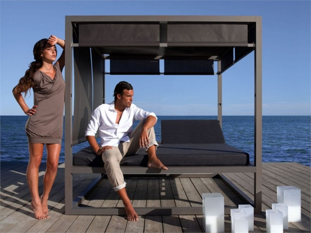 Daybed Garten  65 Outdoor Lounge Liegen und Daybeds Relaxen Sie mit Stil