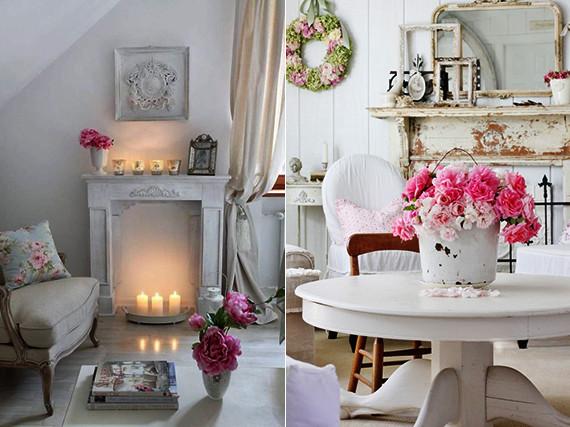 Deko Für Wohnzimmer  vintage deko ideen in weiß für wohnzimmer im vintage stil