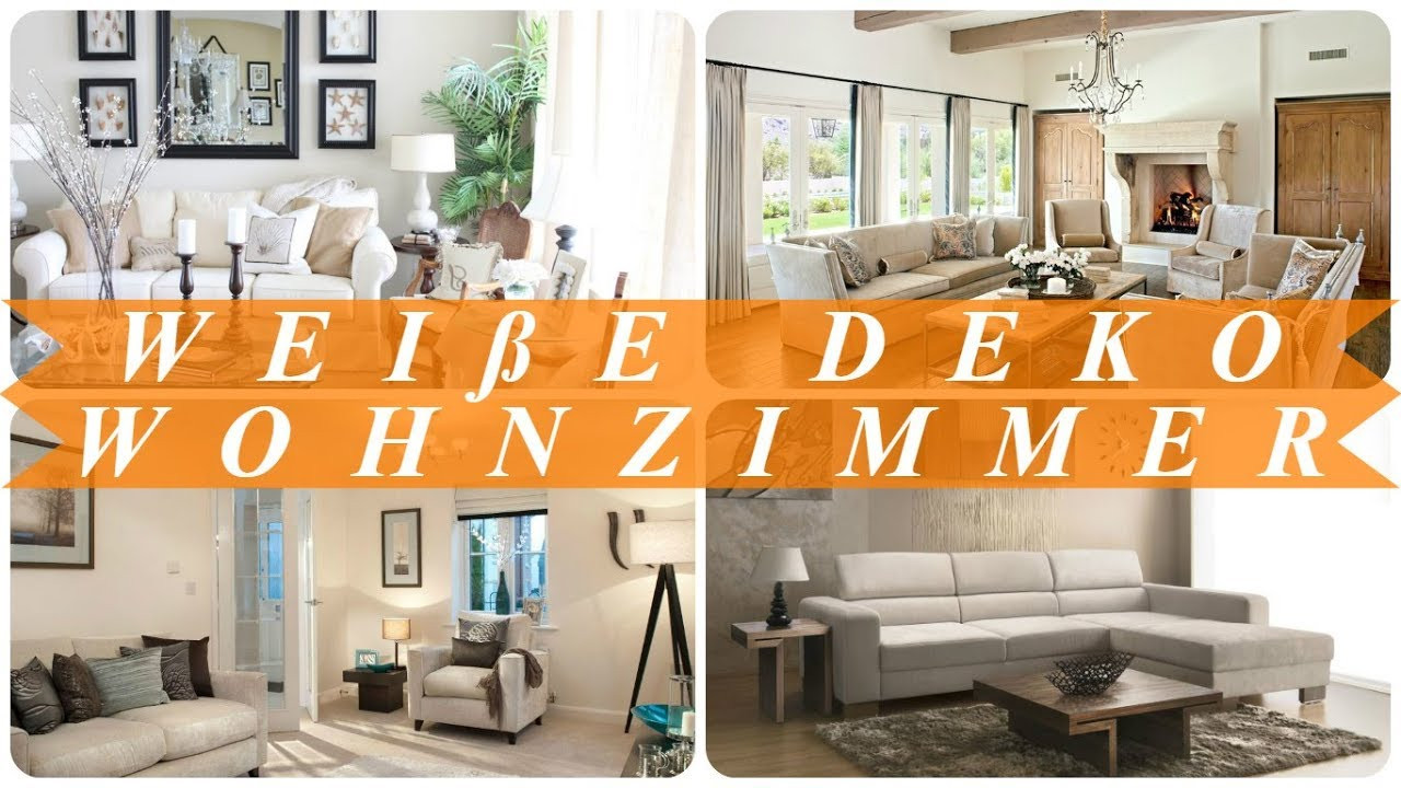 Deko Für Wohnzimmer  Deko ideen für wohnzimmer weiß