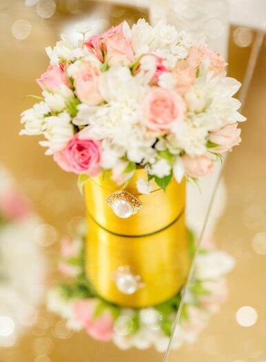 Deko Goldene Hochzeit  Deko Goldene Hochzeit