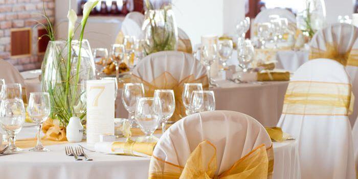 Deko Goldene Hochzeit  Deko Ideen für Goldene Hochzeit von Hochzeitstorte
