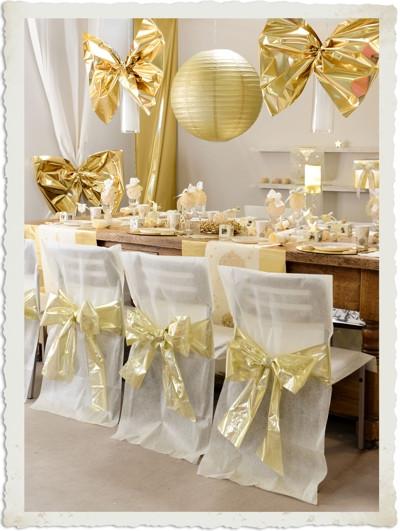 Deko Goldene Hochzeit  DEKORATION ZUR GOLDENEN HOCHZEIT