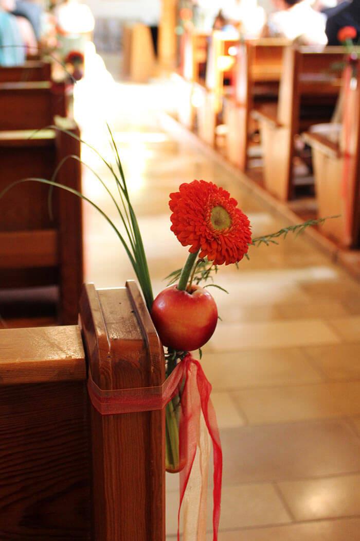 Deko Hochzeit Kirche  Deko zur Hochzeit in der Kirche