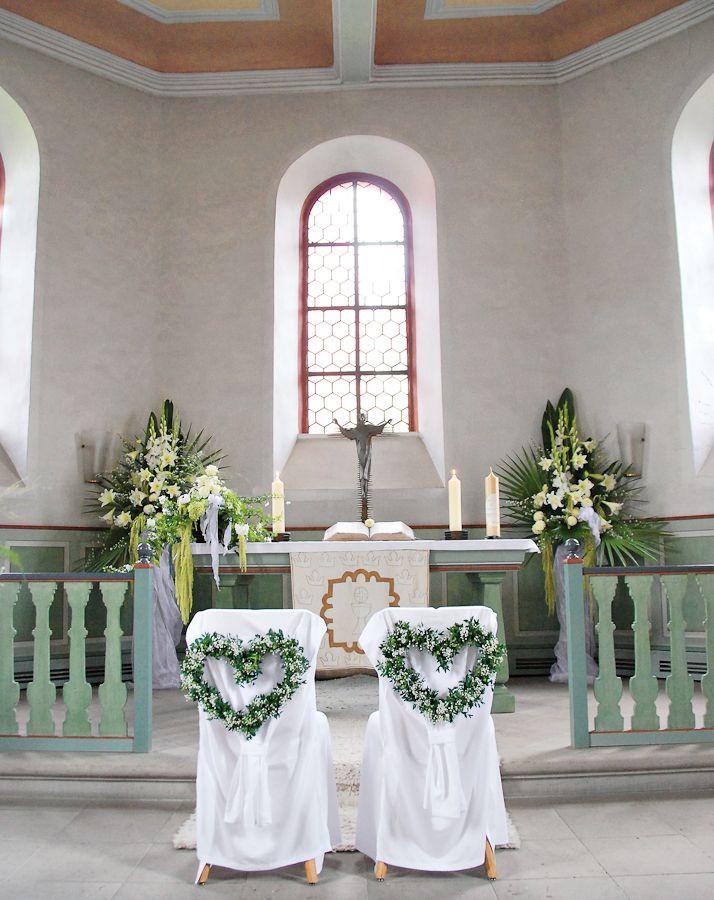 Deko Hochzeit Kirche  Hochzeitsdeko Kirche 65 zauberhafte Kirchendeko Ideen