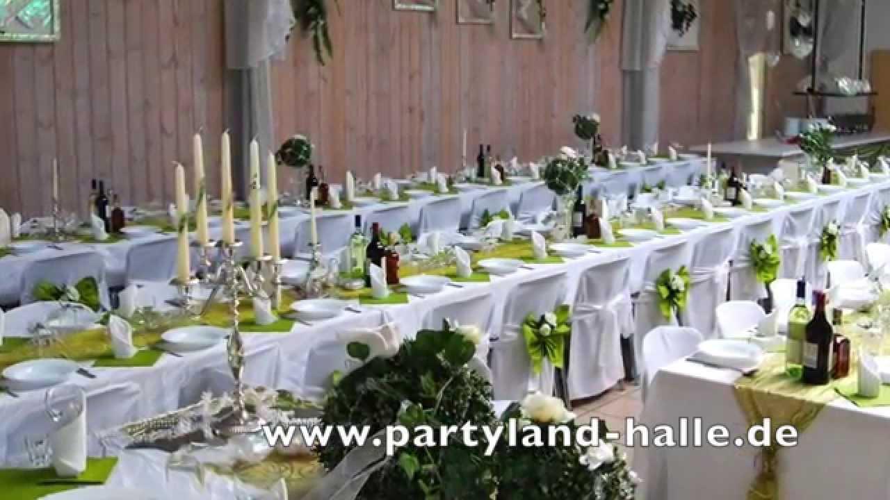 Dekoservice Hochzeit  Pistazien Deko Hochzeitssaal Hochzeiten russische