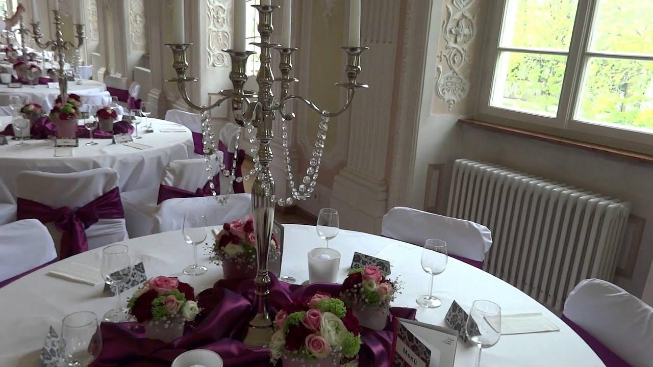 Dekoservice Hochzeit  Deko & Design GmbH Dekoration Hochzeit Schiesshaus