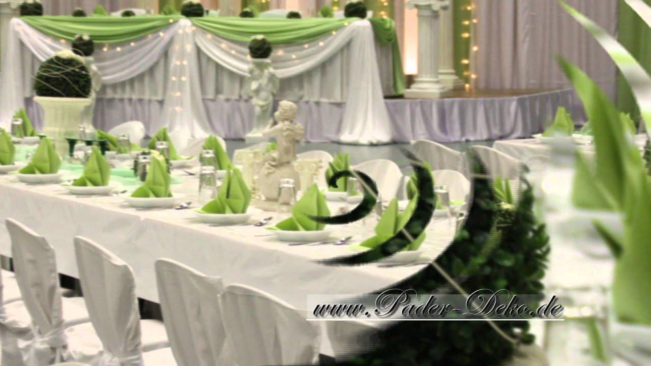 Dekoservice Hochzeit  Hochzeitsdekoration Swadba Deko für Hochzeit