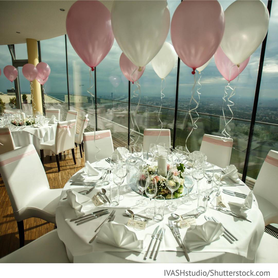 Dekoservice Hochzeit  Luftballons Dekorieren mit Luftballons