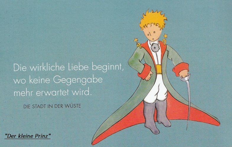 """Der Kleine Prinz Hochzeit  Zitat aus """"Der kleine Prinz"""" von Antoine de Saint Exupéry"""