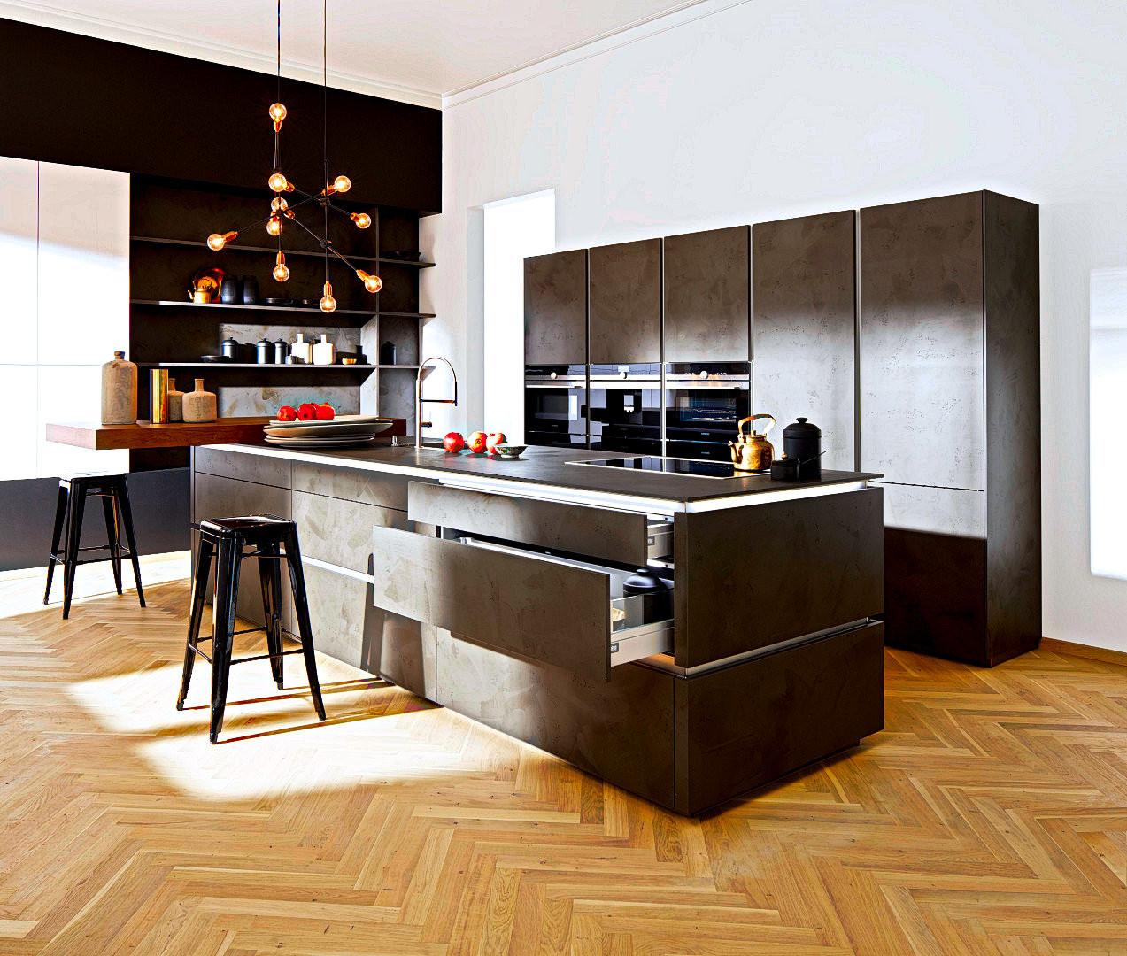 Design Küchen  Design Küche Günstig Küchen kaufen geht nur bei der