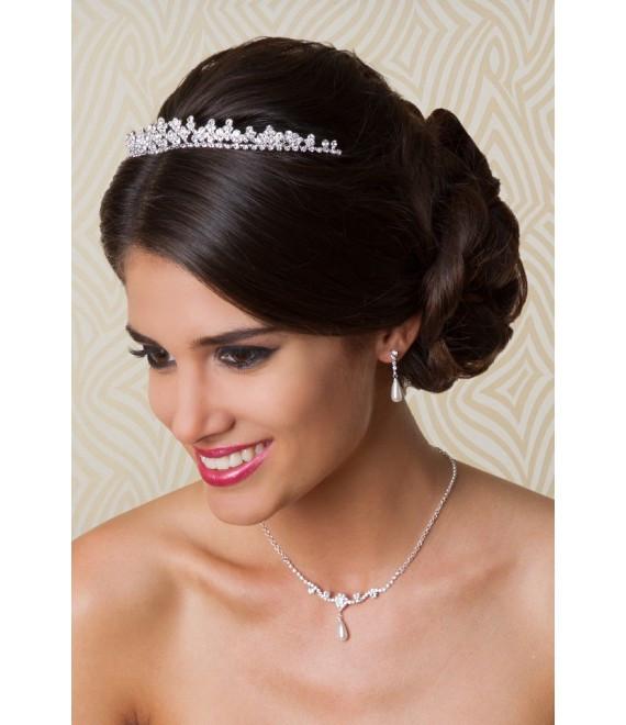 Diadem Hochzeit  G Westerleigh Tiara 6958 Brautaccessoires
