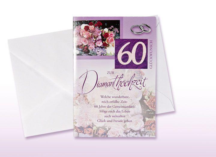 Die 20 Besten Ideen Für Diamantene Hochzeit Glückwünsche ...