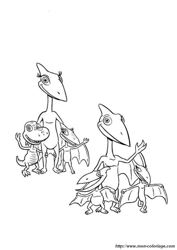 Dino Zug Ausmalbilder  Ausmalbilder Dino Zug bild dino zug