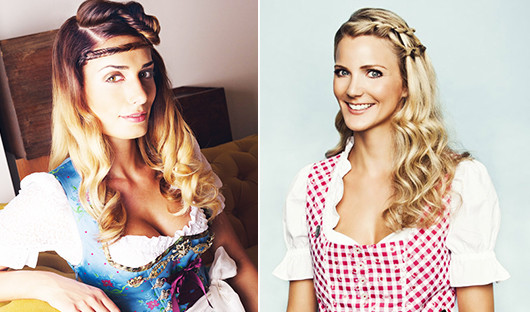 Dirndl Frisuren Offene Haare  Oktoberfest Frisuren 36 trendige Dirndl Frisuren fresHouse