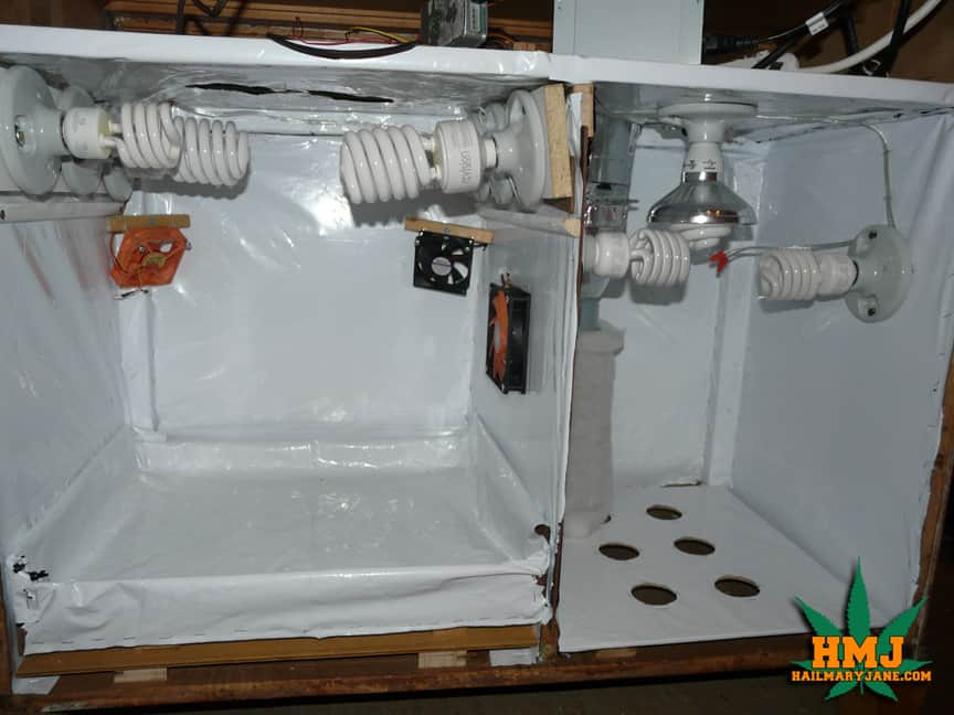 Diy Growbox  How To Build a Stealth Grow Box Step By Step For Less Than