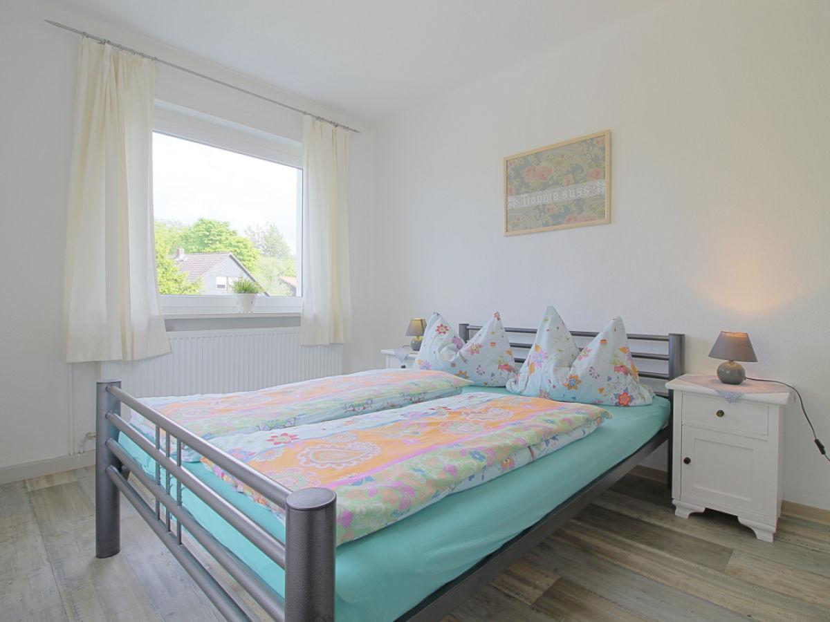 Doppelbett 1 40x2 00  Ferienwohnung Sperling im Haus Tanneneck Harz Frau