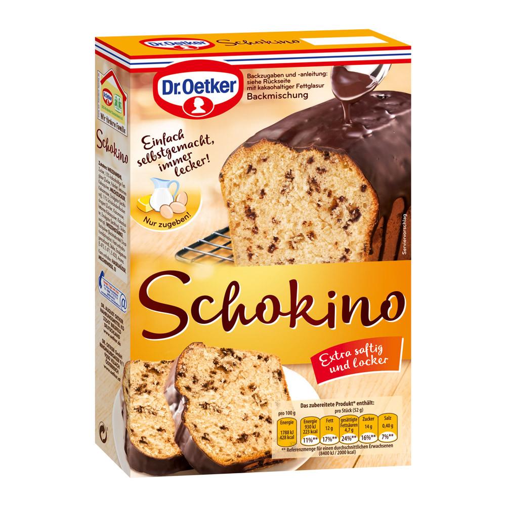 Dr Oetker Kuchen  Schokino Kuchen Kastenkuchen