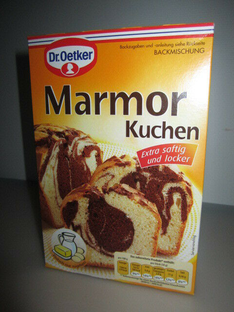 Dr Oetker Kuchen  Dr Oetker Marble Cake Baking Mix Marmor Kuchen