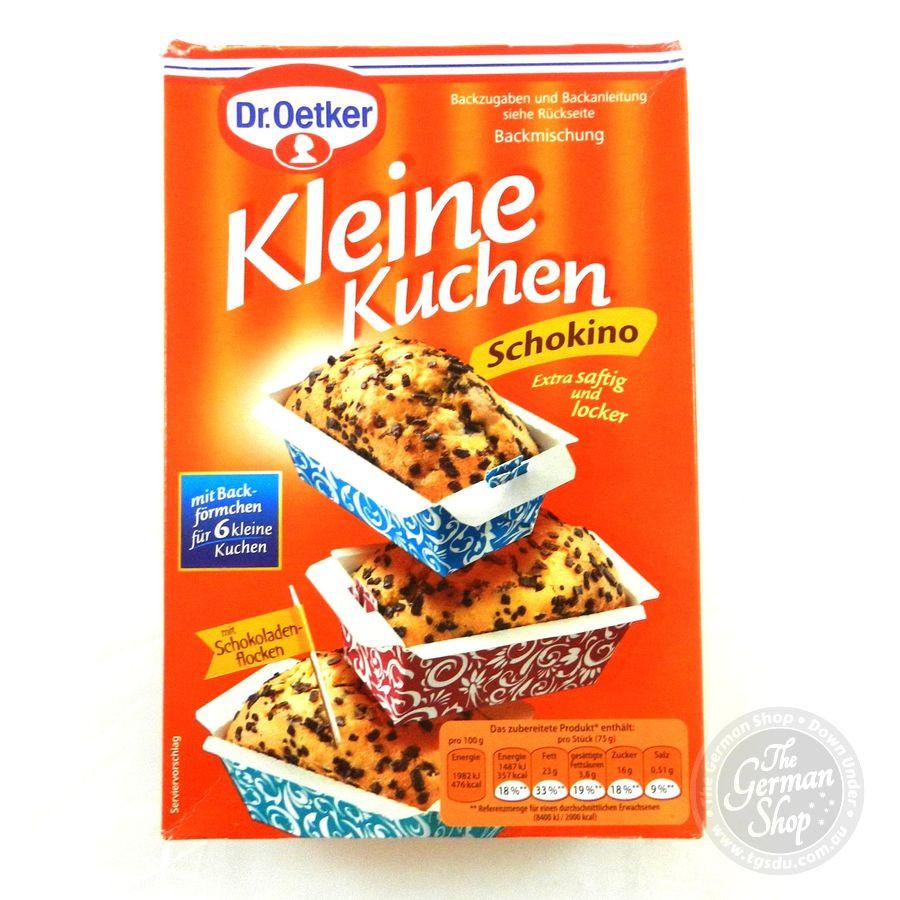 Dr Oetker Kuchen  Dr Oetker kleine Kuchen Schokino little cakes choc chip