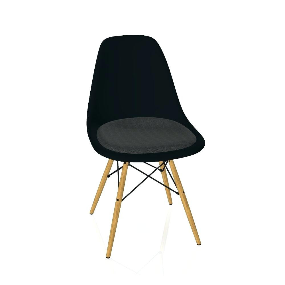 Dsw Stuhl  Dsw Stuhl Charles E Style Schwarz Transparent Eames Weiss