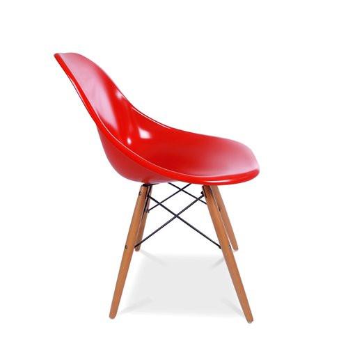 Dsw Stuhl  Eames DSW Stuhl in Rot 125 00 € moDecor Hochwertige