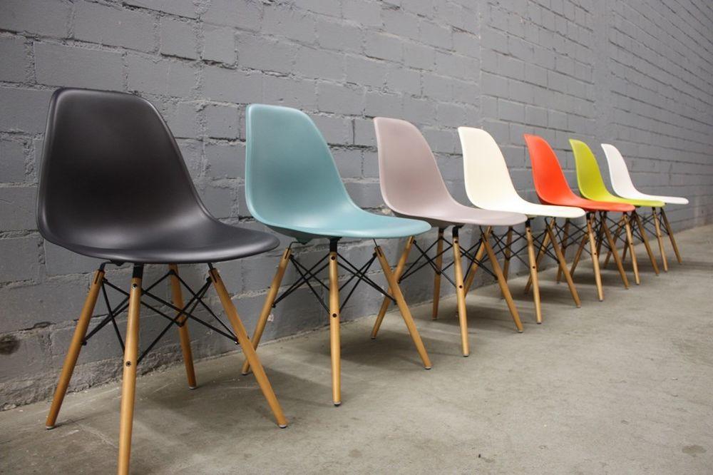 Dsw Stuhl  Original Vitra DSW Charles Eames Chair Stuhl Dining
