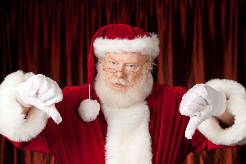 Du Kommst In Ein Zimmer Weihnachtsmann