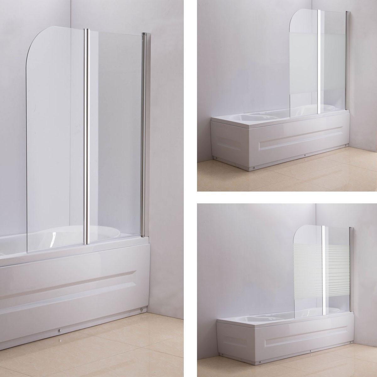 Duschabtrennung Badewanne  Duschabtrennung Badewanne Links oder Rechts montierbar I CLP