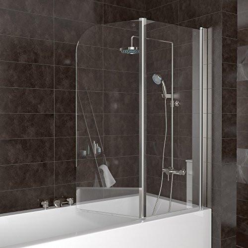 Duschabtrennung Badewanne  Duschabtrennung Badewanne Duschwand Badewannenfaltwand