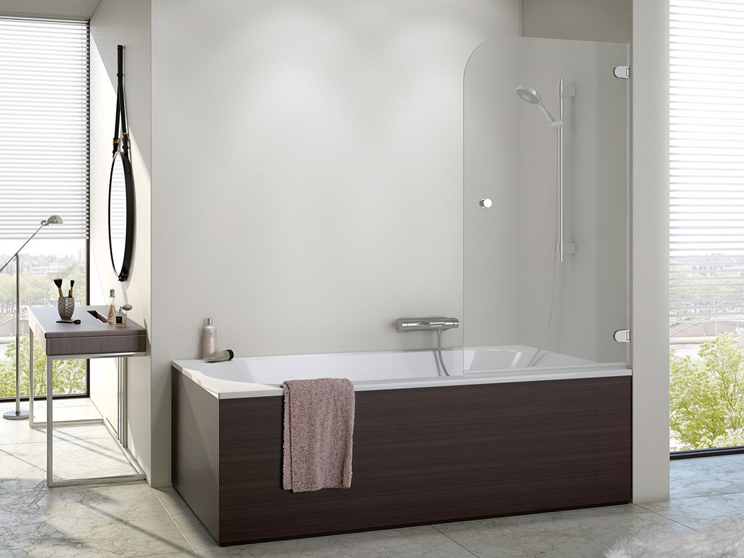 Duschabtrennung Badewanne  Duschabtrennung Badewanne 60 x 140 cm Duschabtrennung