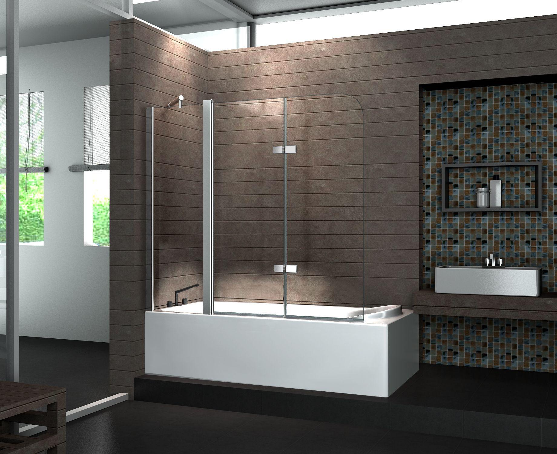 Duschabtrennung Badewanne  PREISVERGLEICH EU badewanne mit duschabtrennung