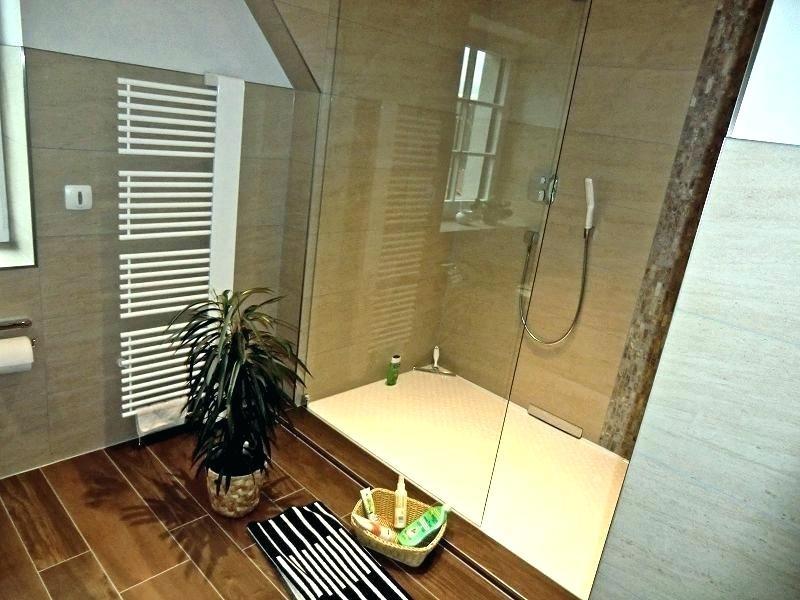 Dusche Englisch  Begehbare Dusche Vorm Fenster Full Size Bodengleiche