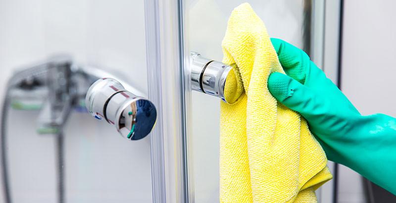 Dusche Reinigen  Glas reinigen und putzen – Tipps
