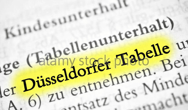 Düsseldorfer Tabelle 2018  International Child Maintenance Germany s Dusseldorfer