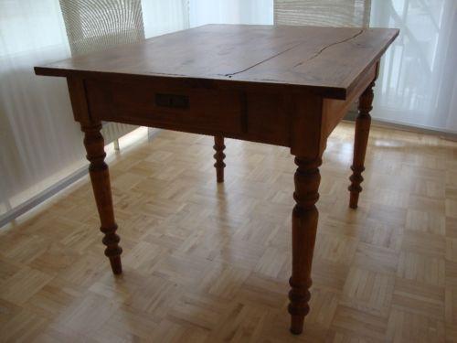 Ebay Kleinanzeigen Tisch  Antiquität alter Küchentisch Massivholz Tisch Bauerntisch