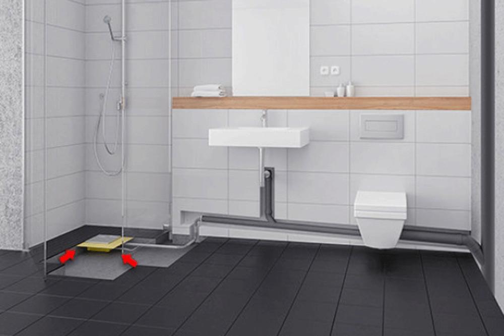 Ebenerdige Dusche  Bodengleiche Dusche einbauen Anleitung
