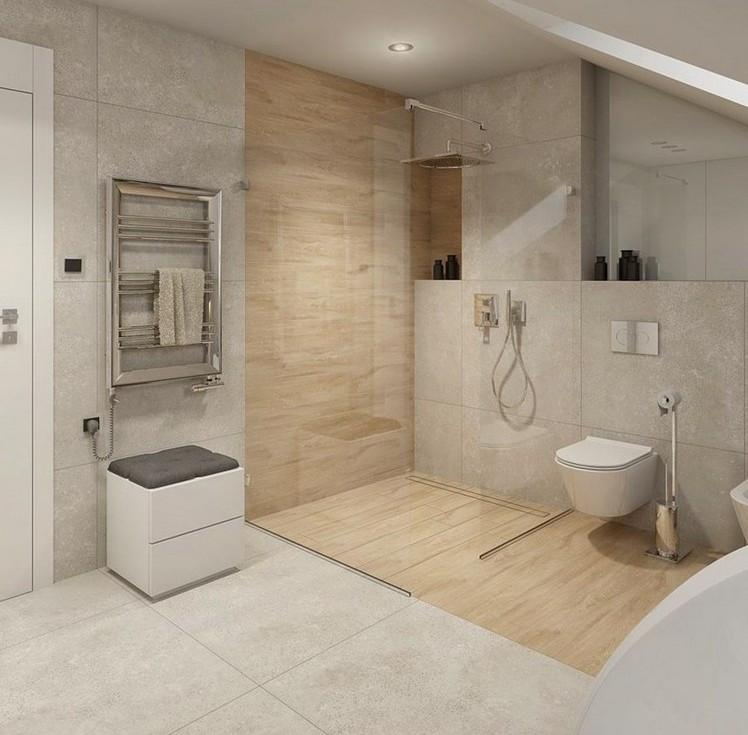 Ebenerdige Dusche  Ebenerdige Dusche in 55 attraktiven modernen Badezimmern